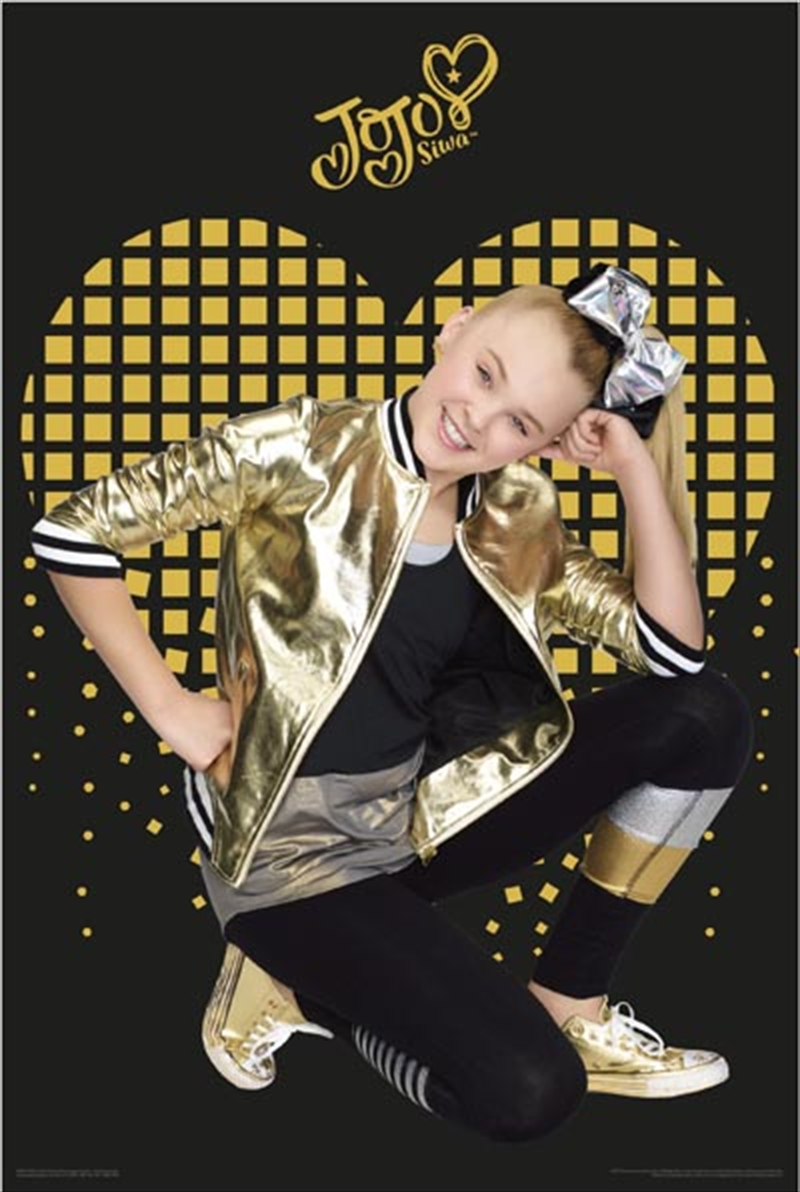 JoJo Siwa - Gold Heart | Merchandise