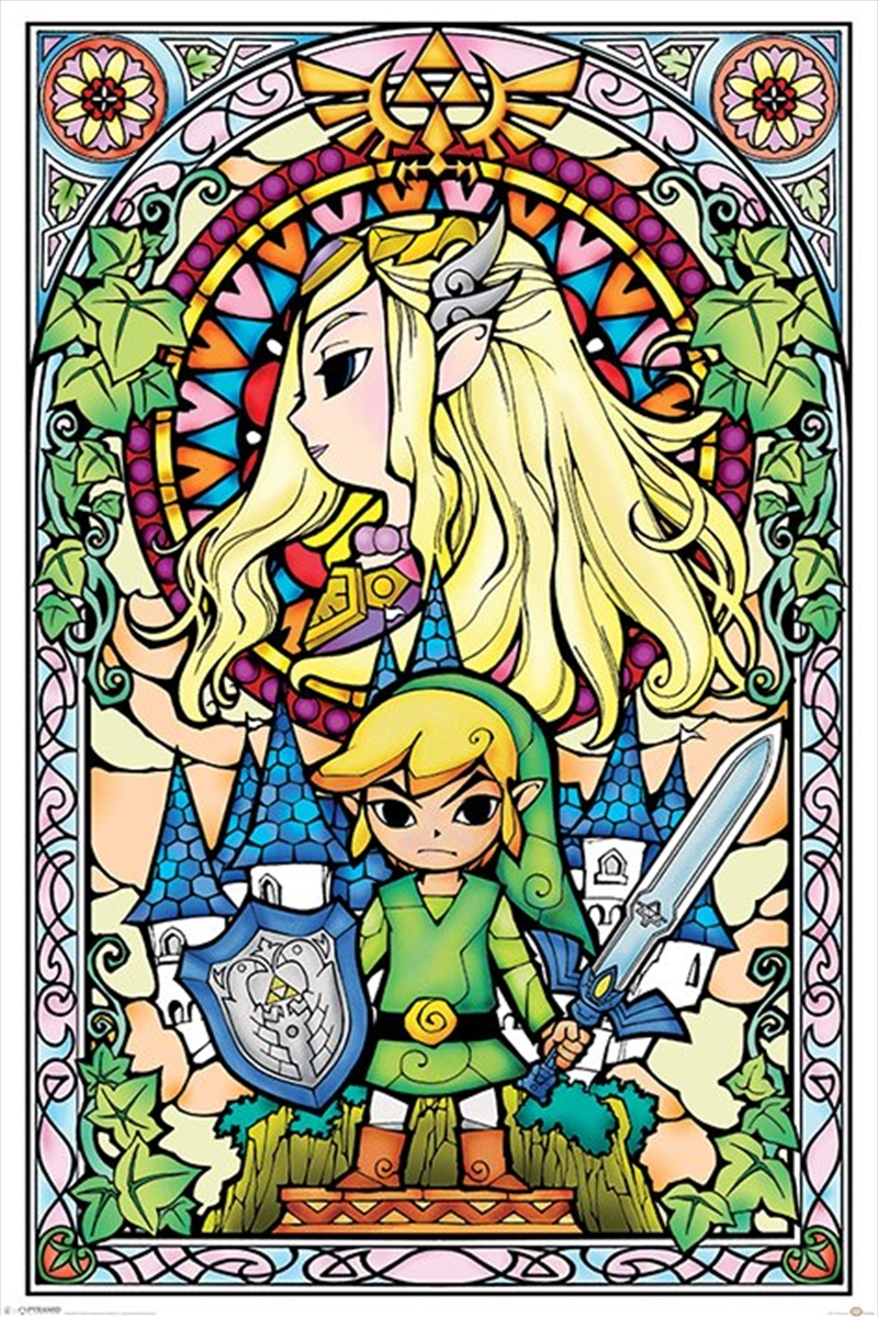 The Legend Of Zelda - Stained Glass | Merchandise
