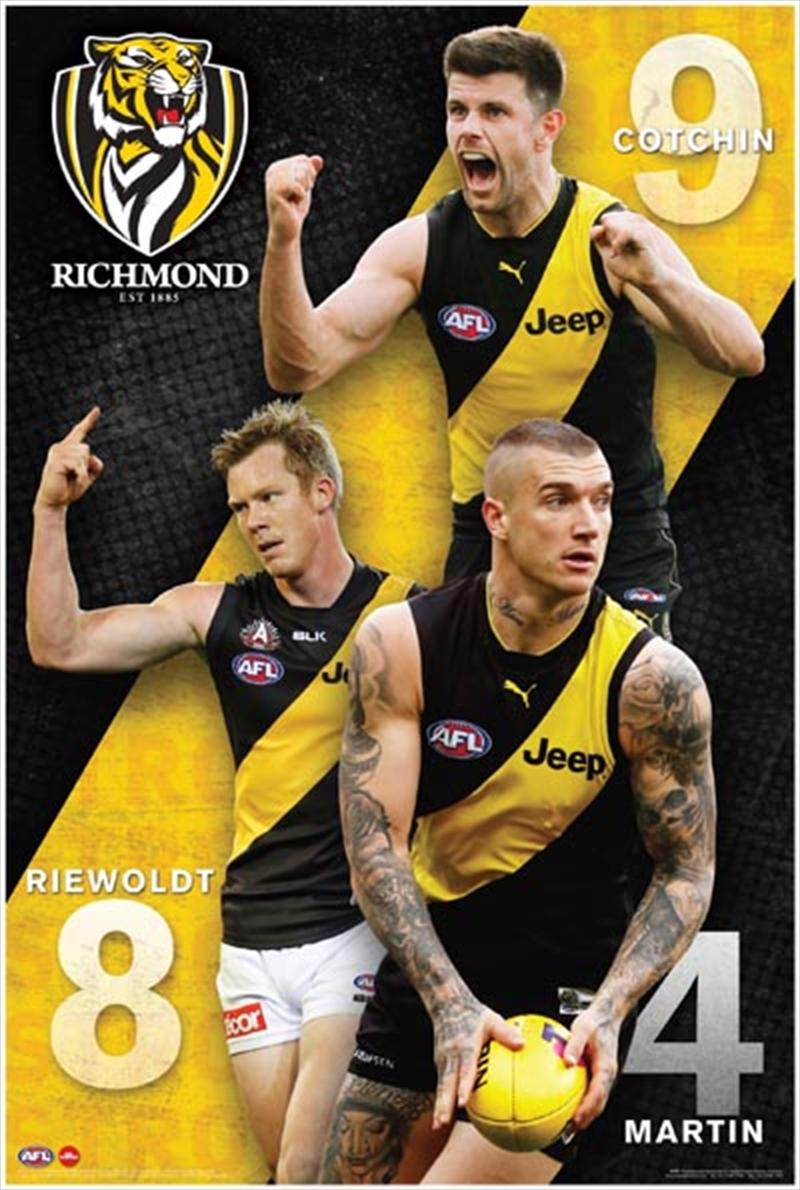 AFL - Richmond Tigers Players | Merchandise