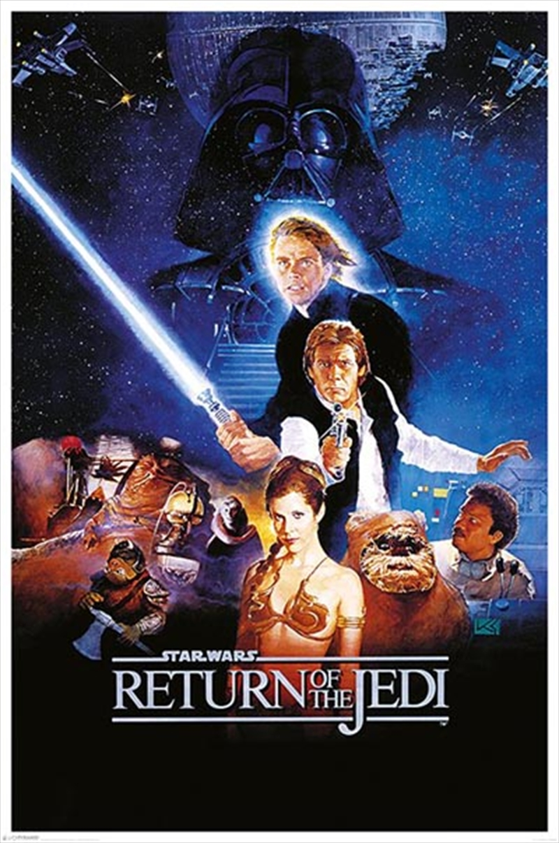 Star Wars Classic - Return Of The Jedi One Sheet | Merchandise