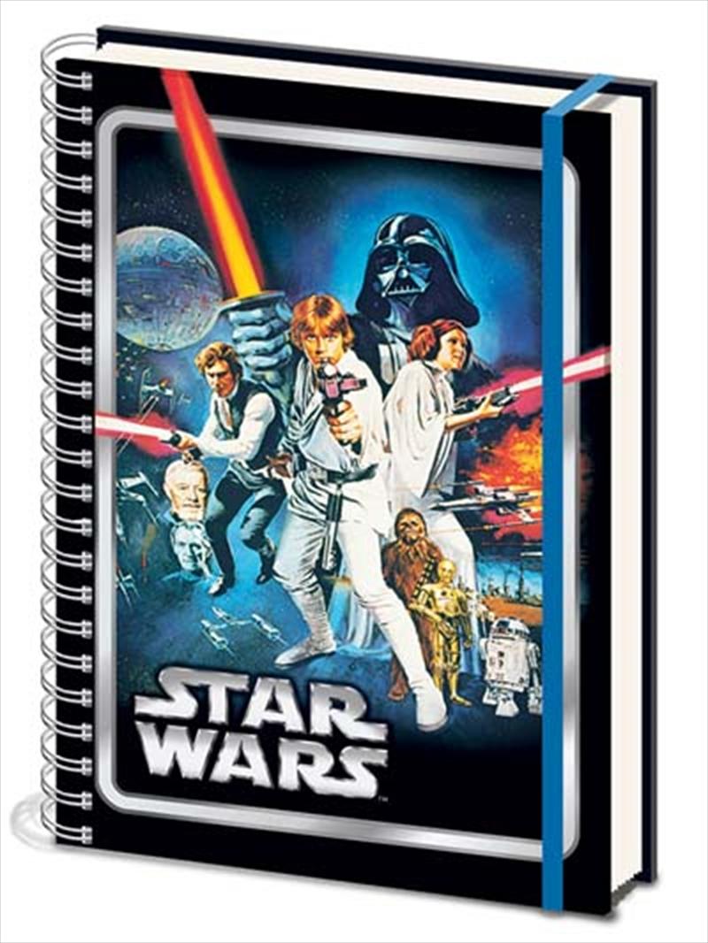 Star Wars Classic - A New Hope A4 Notebook | Merchandise