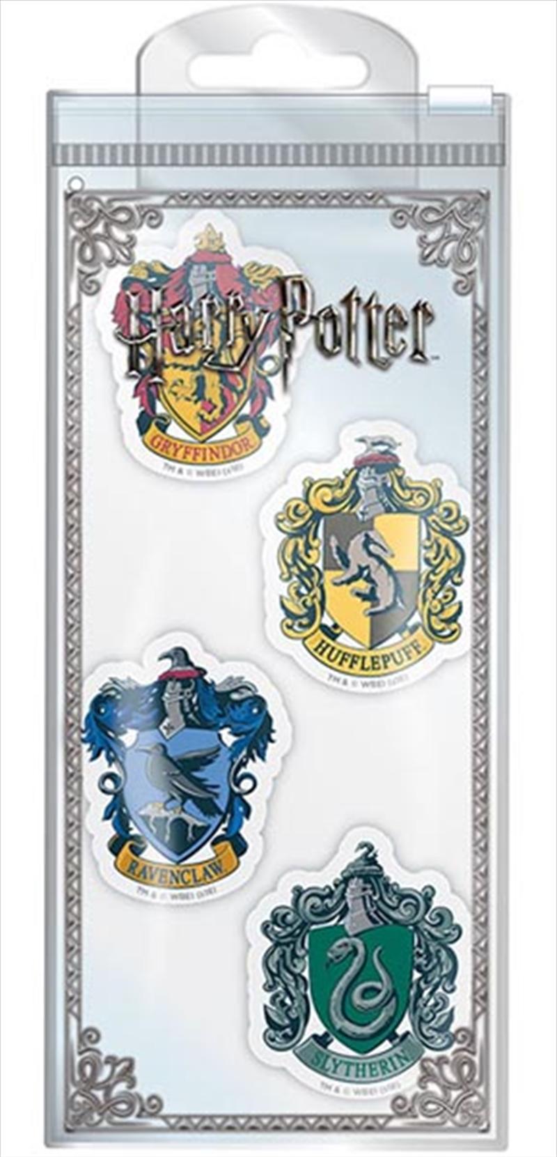 Harry Potter - Houses Eraser Set | Merchandise