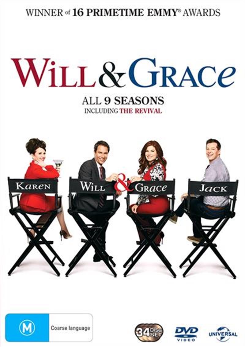 Will and Grace - Season 1-9 | Boxset | DVD