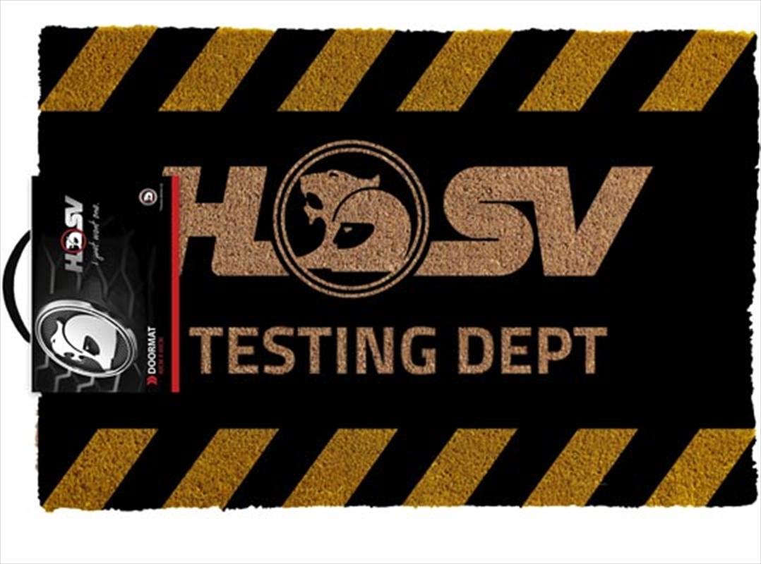 Holden - HSV Testing   Merchandise