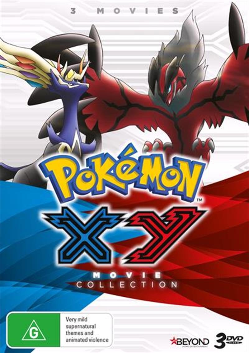 Pokemon - XY Movies   Collection   DVD