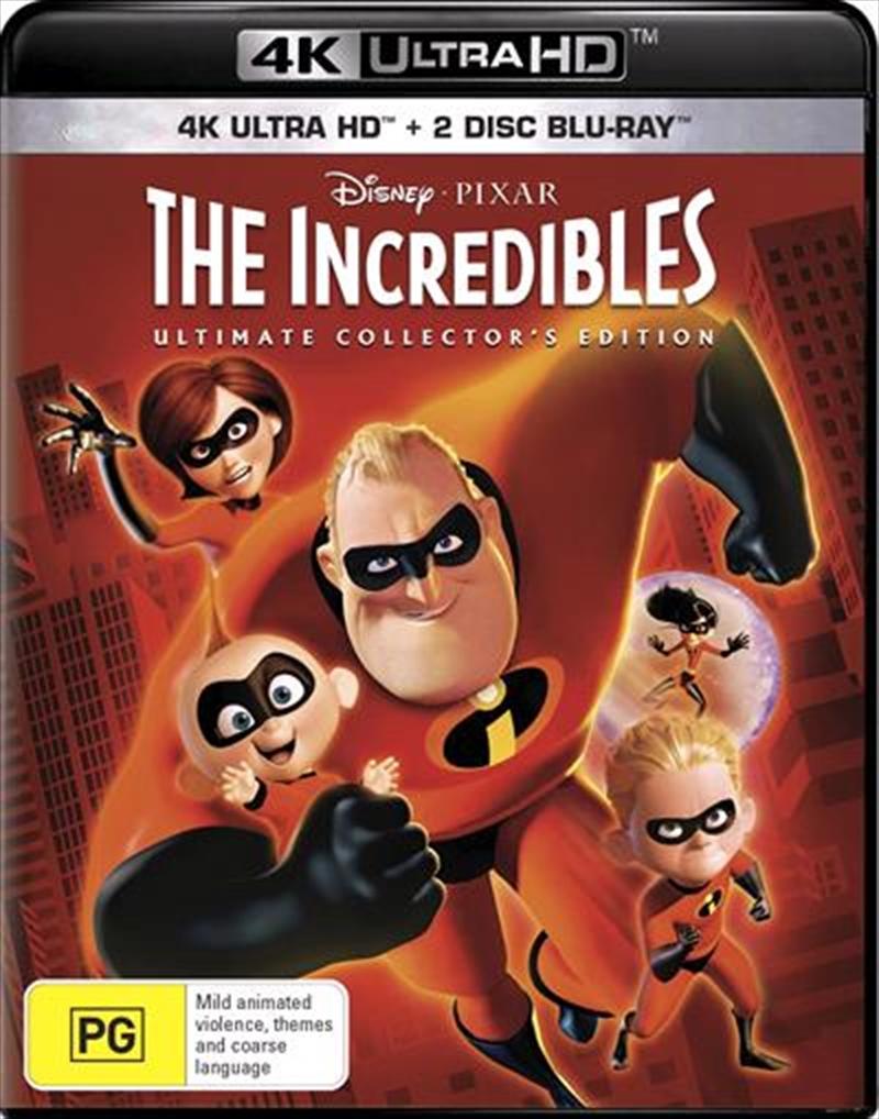 Incredibles - Bonus Blu-ray | UHD