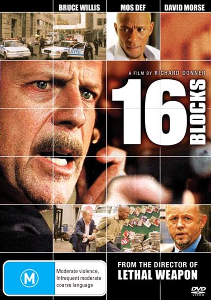 16 Blocks | DVD