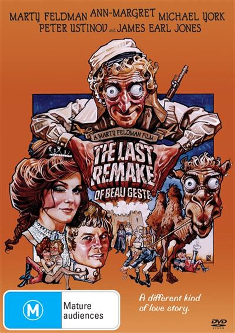 Last Remake Of Beau Geste, The | DVD