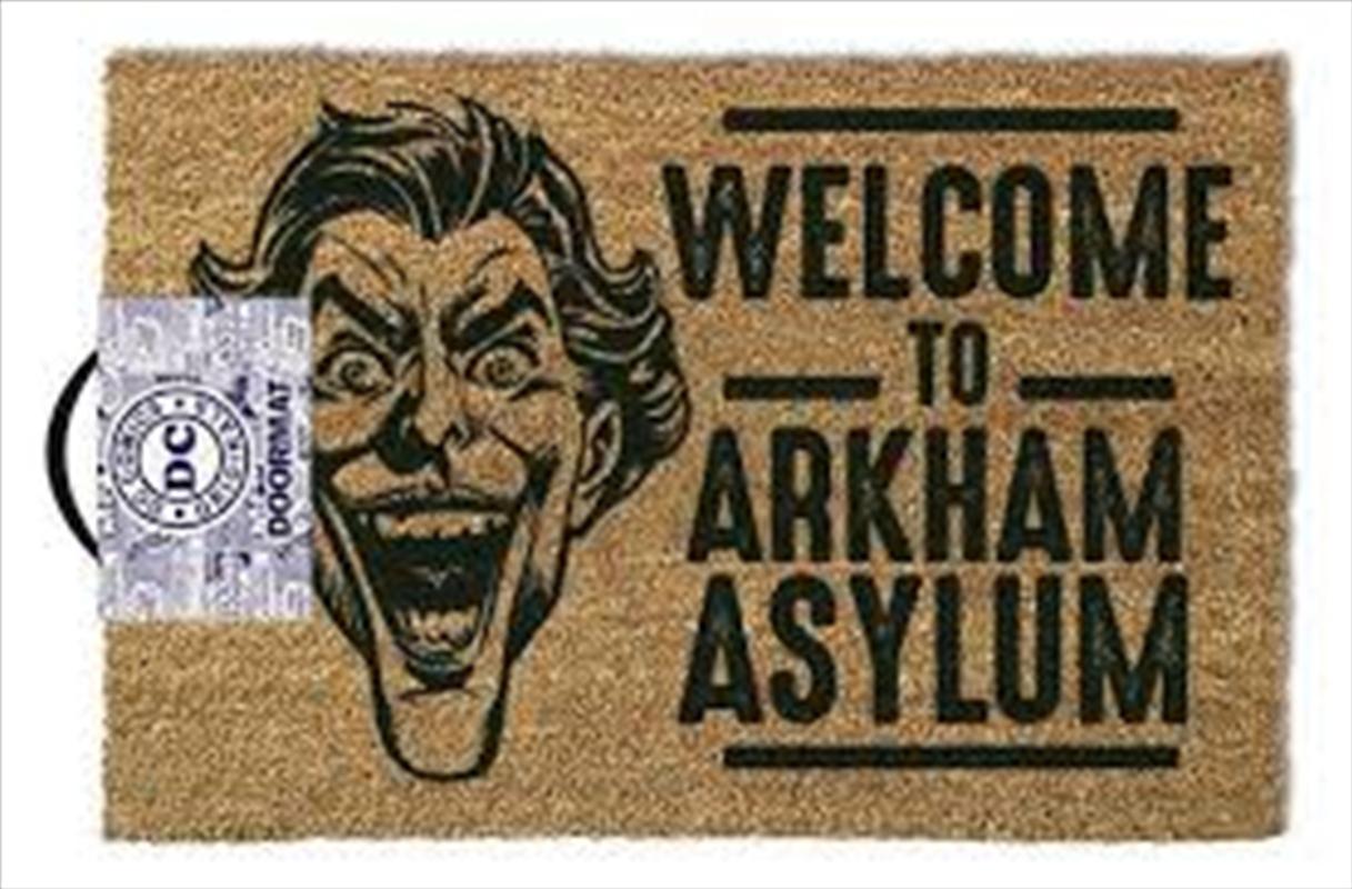 DC Comics - The Joker Welcome To Arkham Asylum | Merchandise