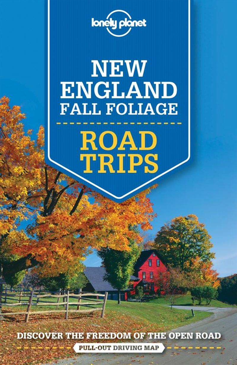 Lonely Planet - New England Fall Foliage Road Trips | Paperback Book