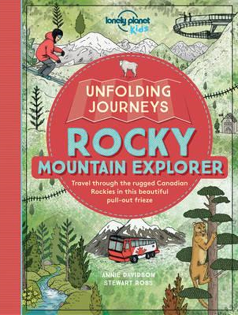 Lonely Planet Kids - Unfolding Journeys Rocky Mountain Explorer | Paperback Book