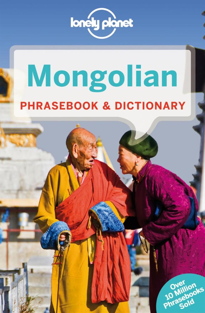 Lonely Planet - Mongolian Phrasebook And Dictionary | Paperback Book