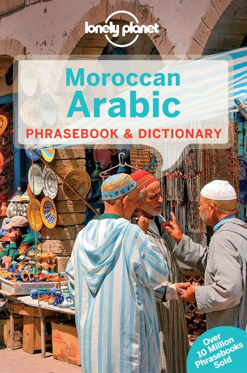 Lonely Planet - Moroccan Arabic Phrasebook And Dictionary | Paperback Book