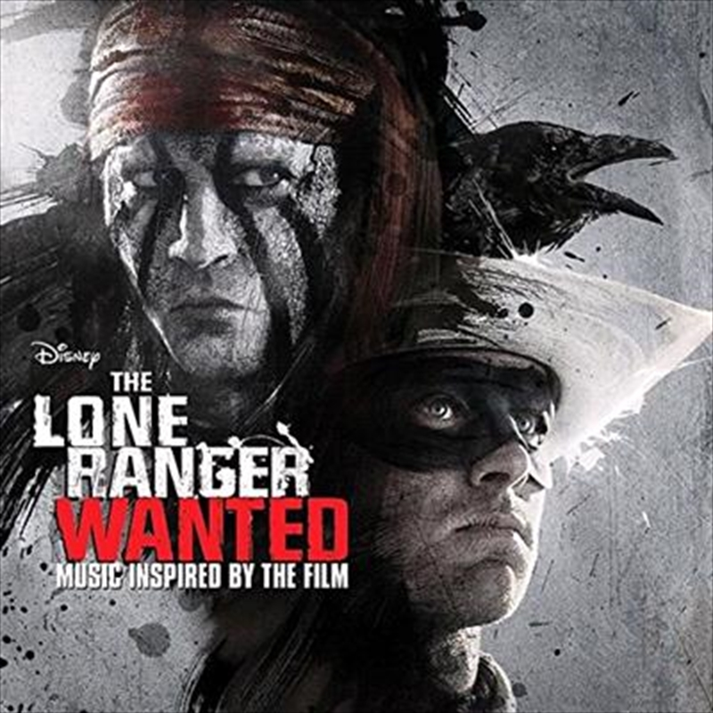 Lone Ranger-  Wanted, The   CD