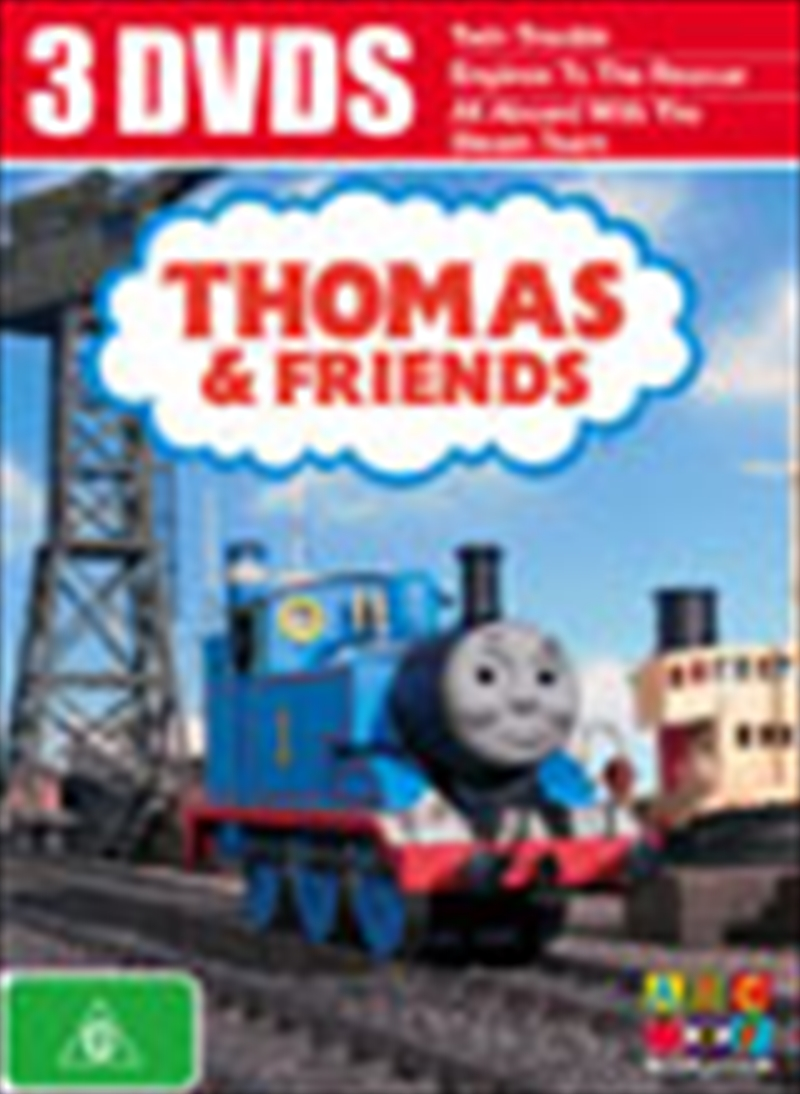 Thomas & Friends; Triple Vol1 | DVD