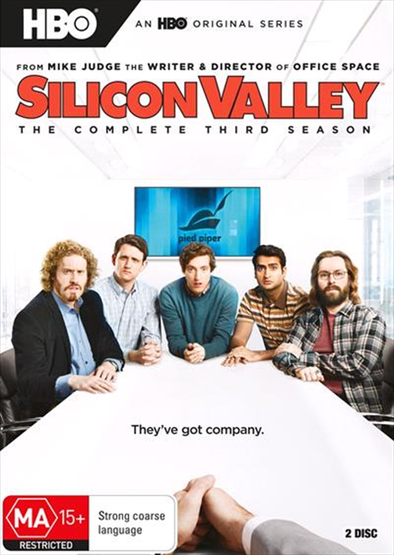 Silicon Valley - Season 3 | DVD