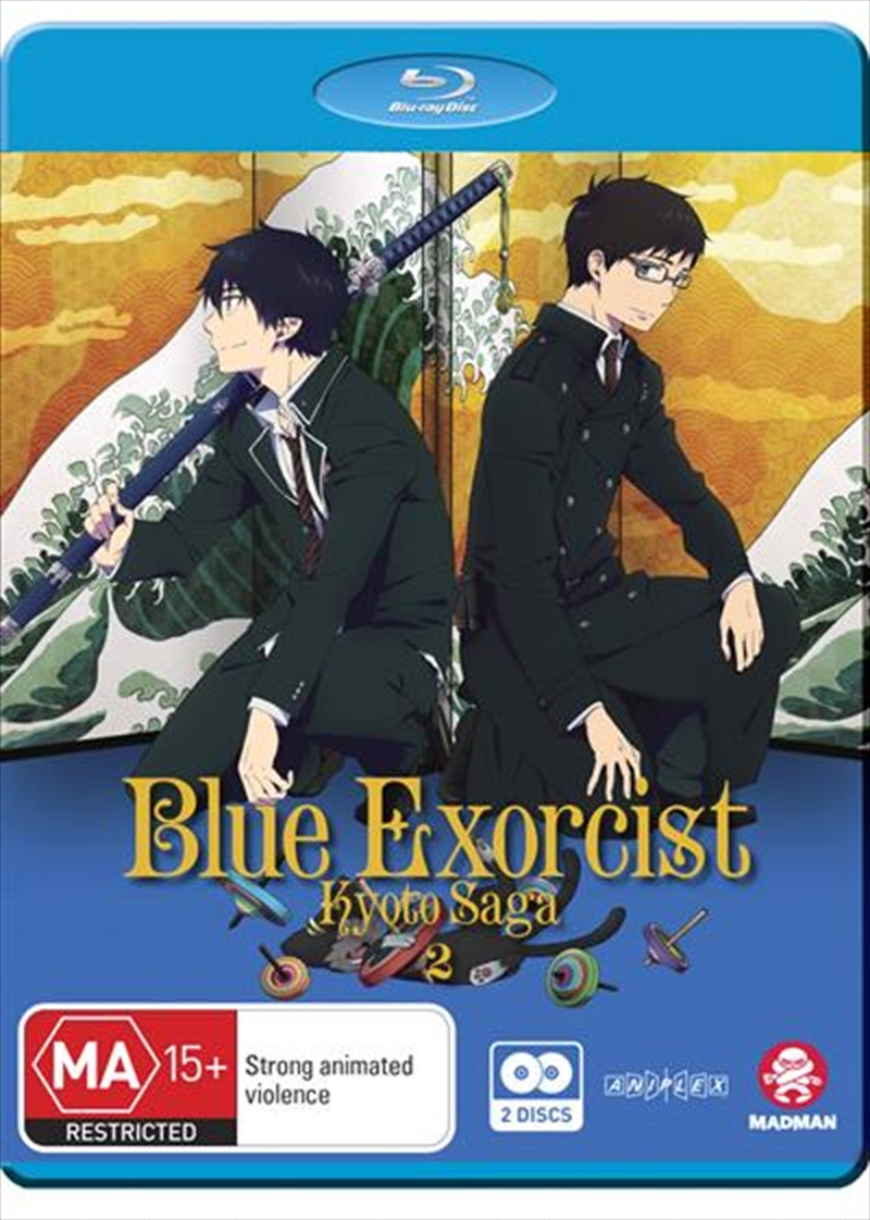 Blue Exorcist - Kyoto Saga - Vol 2 - Eps 7-12 | Blu-ray