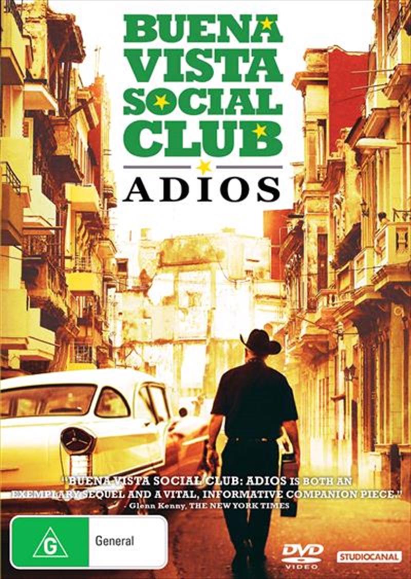 Buena Vista Social Club - Adios   DVD