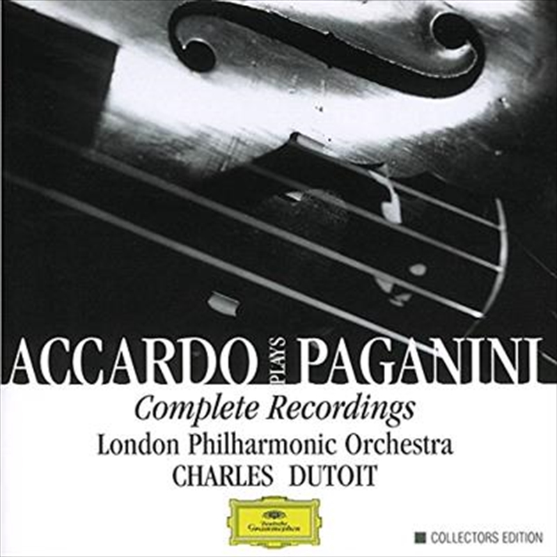 Accardo Plays Paganini Complete Recordings | CD