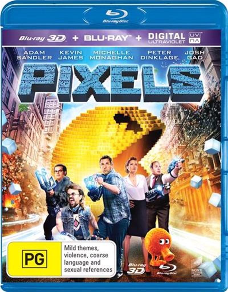 Pixels | Blu-ray 3D