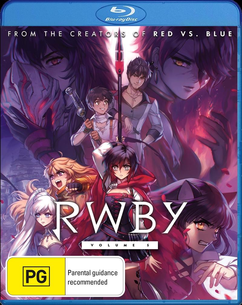 RWBY - Volume 5   Blu-ray