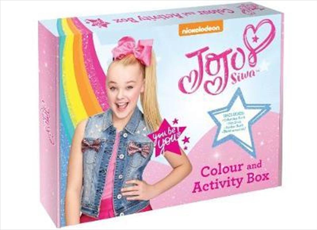 JoJo Siwa Colour and Activity Box | Hardback Book