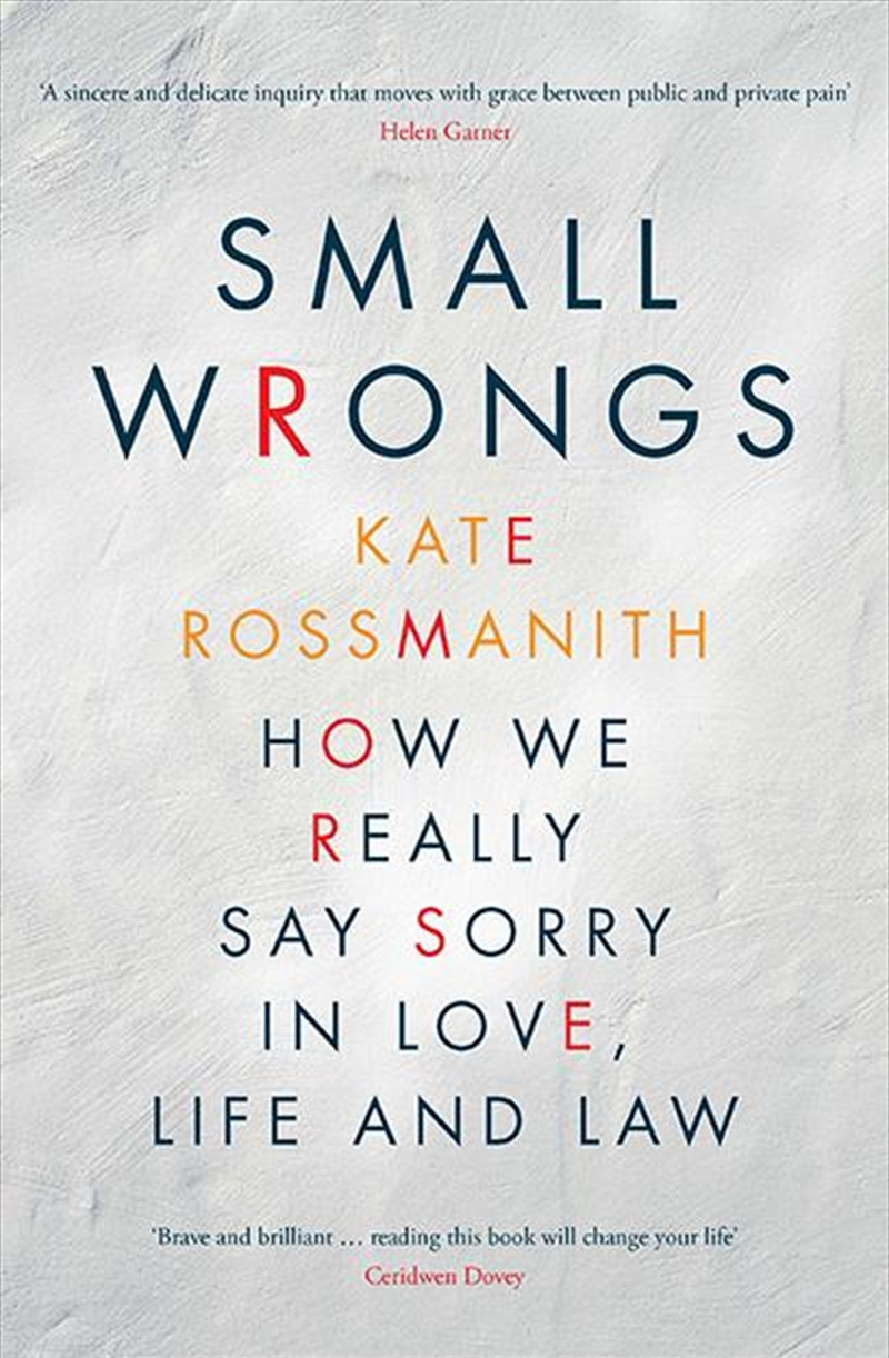 Small Wrongs   Paperback Book