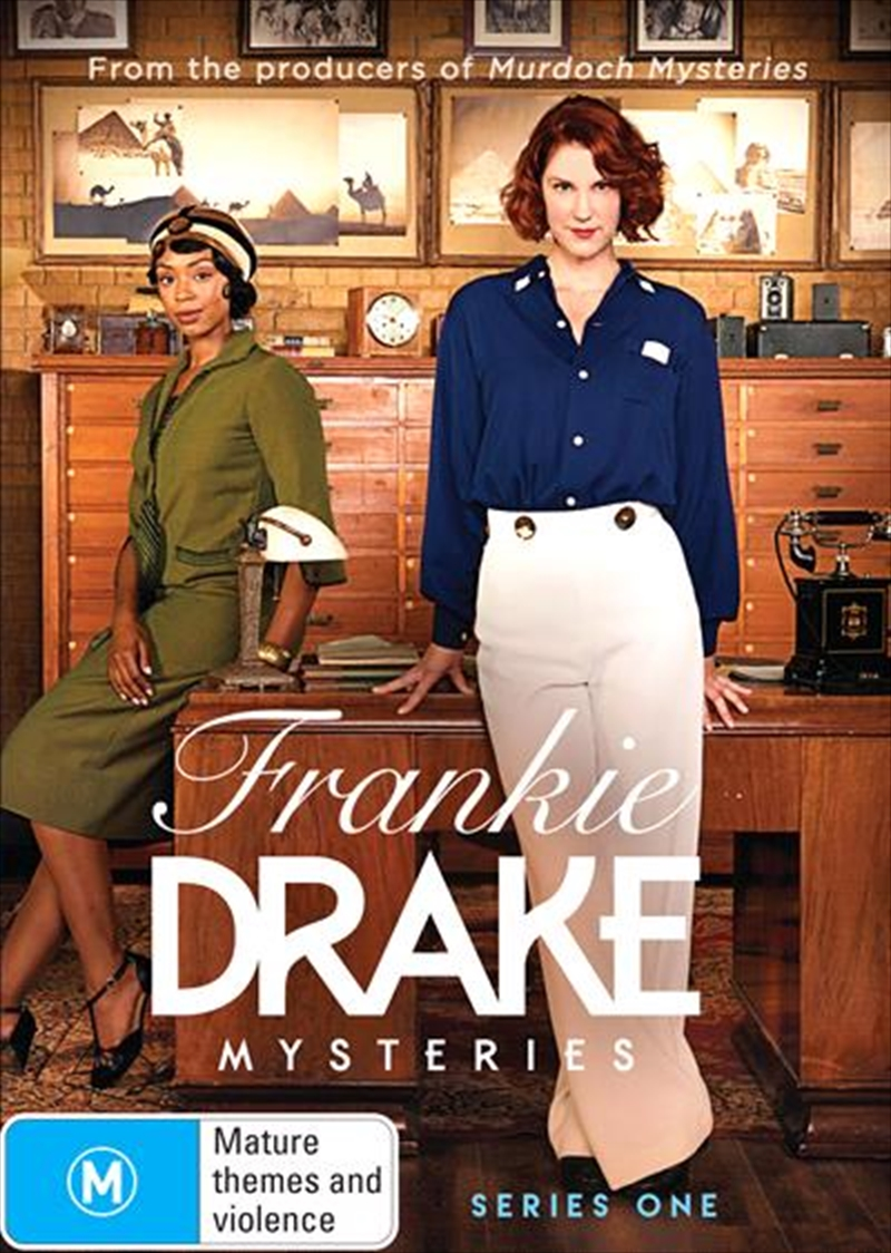 Buy Frankie Drake Mysteries Season 1 On Dvd Sanity