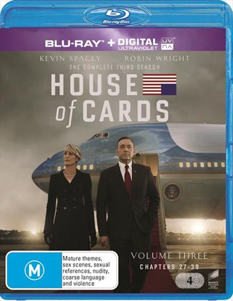 House Of Cards - Season 3 | Blu-ray