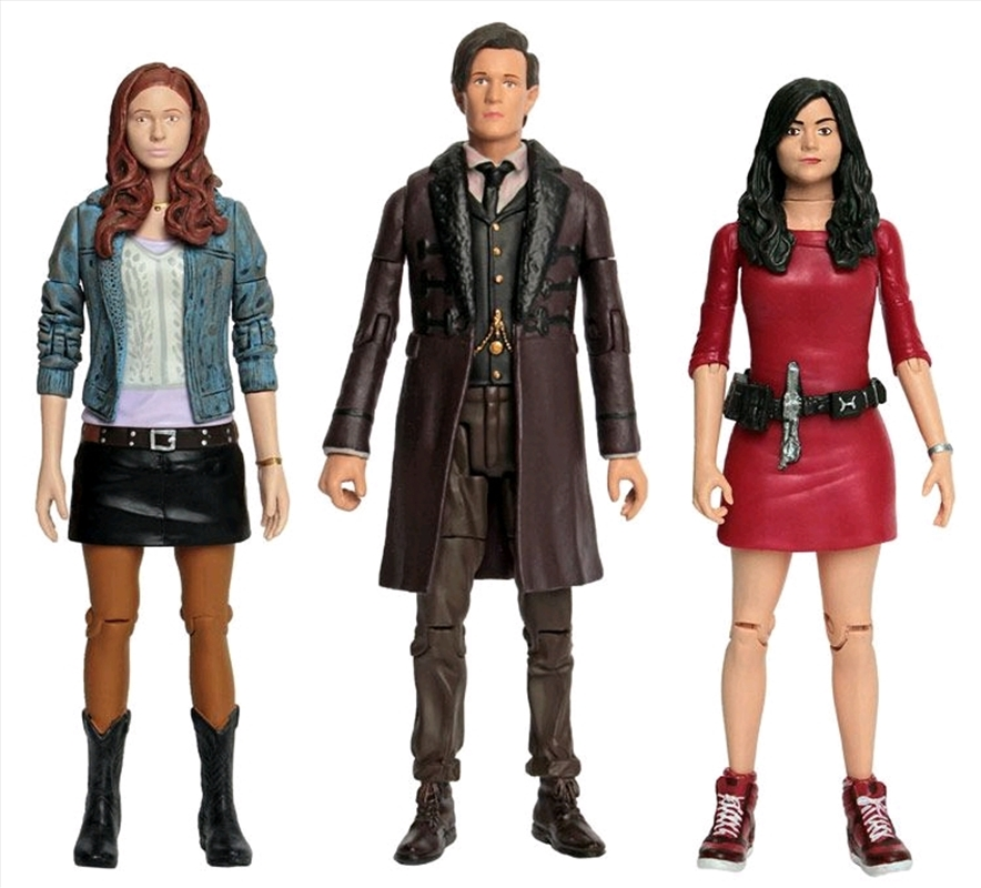 Doctor Who - Eleventh Doctor, Amy Pond & Oswin Action Figure 3-pack | Merchandise