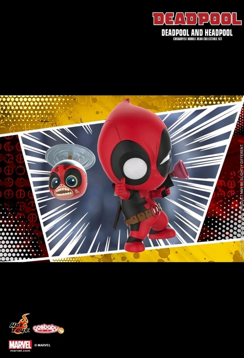 Deadpool - Deadpool & Headpool Cosbaby Set | Merchandise