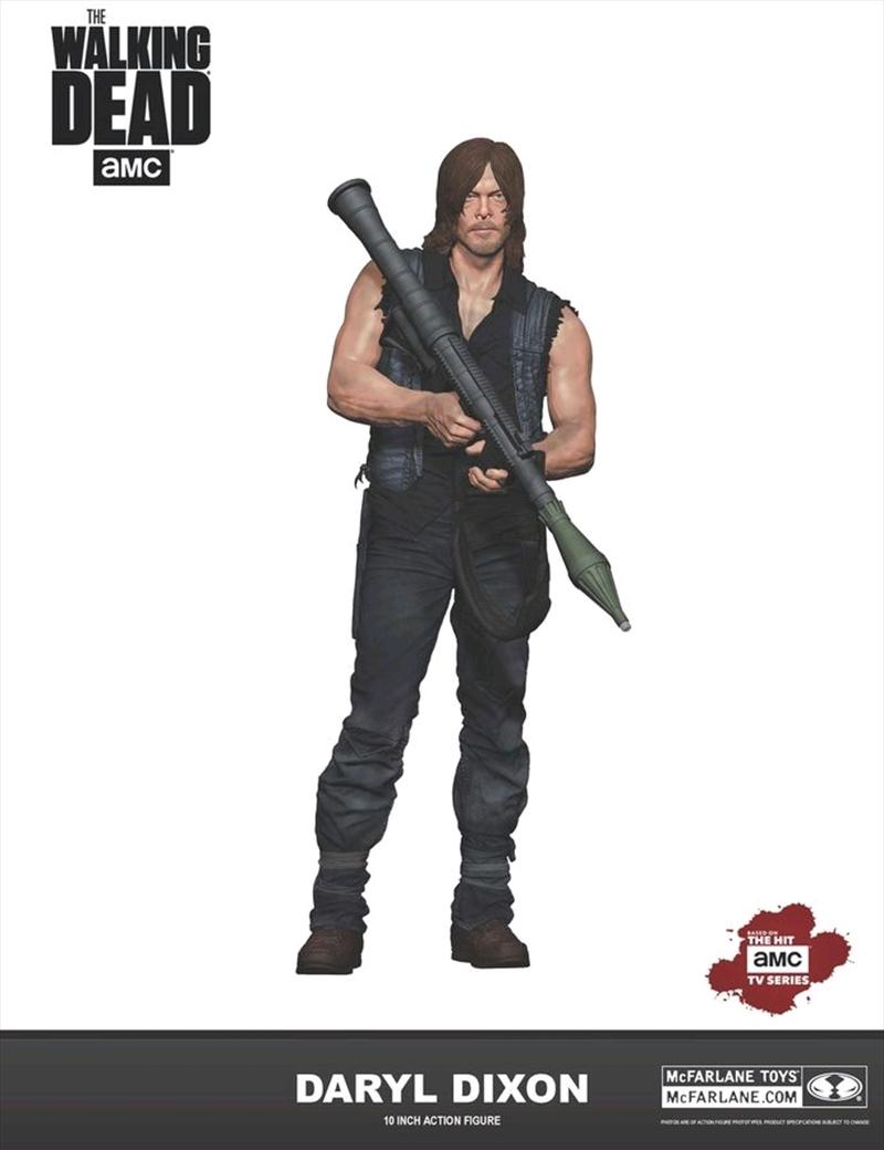 "The Walking Dead - Daryl Dixon with Rocket Launcher 10"" Action Figure   Merchandise"