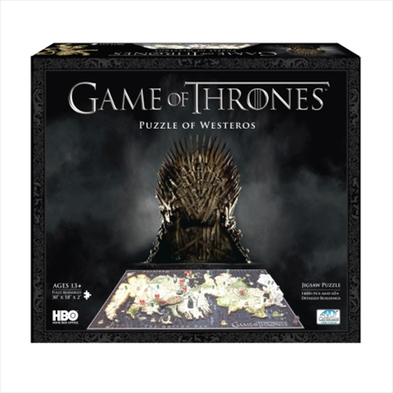 Game of Thrones Westeros 4D Puzzle | Merchandise