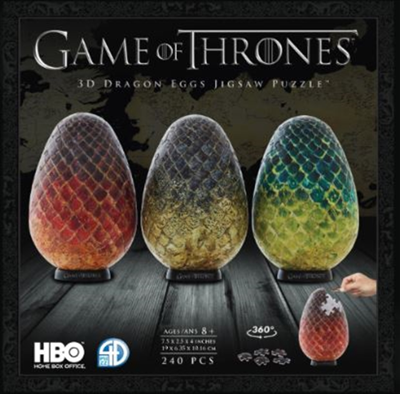 Game of Thrones 3D Puzzle Dragon Egg - Single | Merchandise