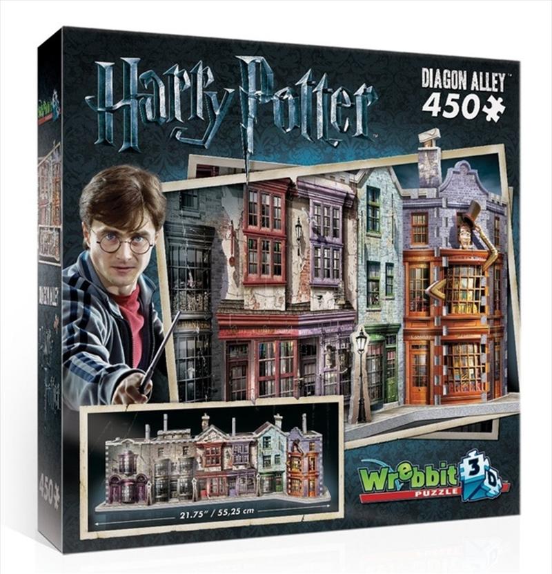 Harry Potter: 3D Puzzle: Diagon Alley   Merchandise