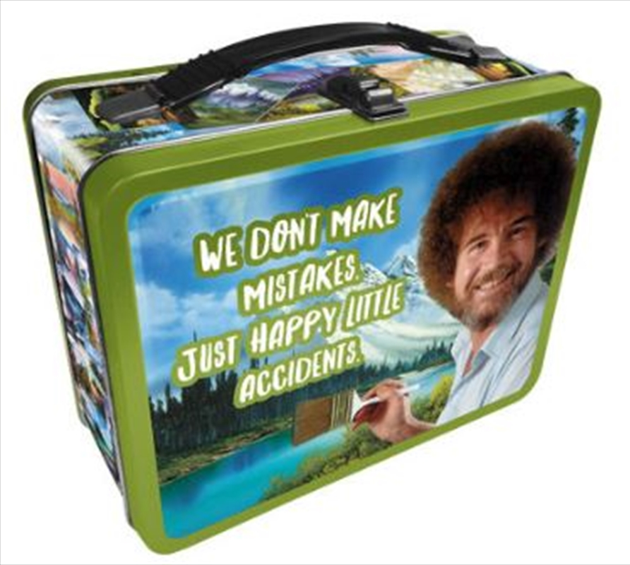 Bob Ross – Happy Accidents Tin Carry All Fun Box | Accessories