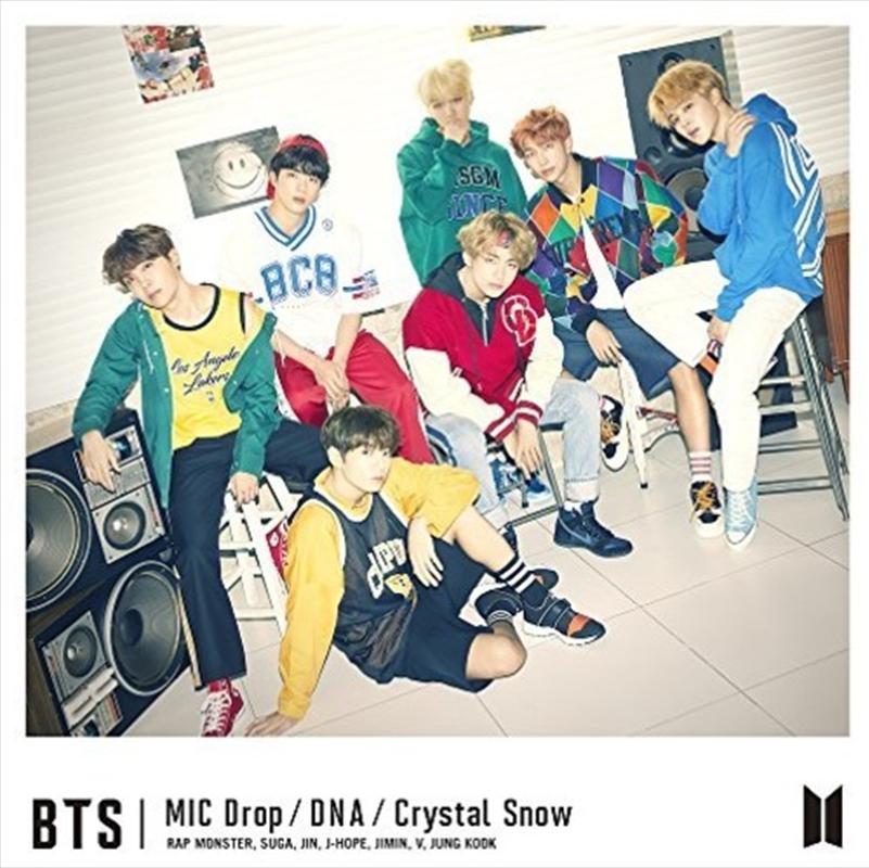 Mic Drop / DNA / Crystal Snow - Type A | CD