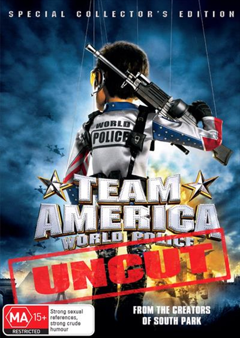 Team America World Police- Uncut (Platinum Collection) | DVD
