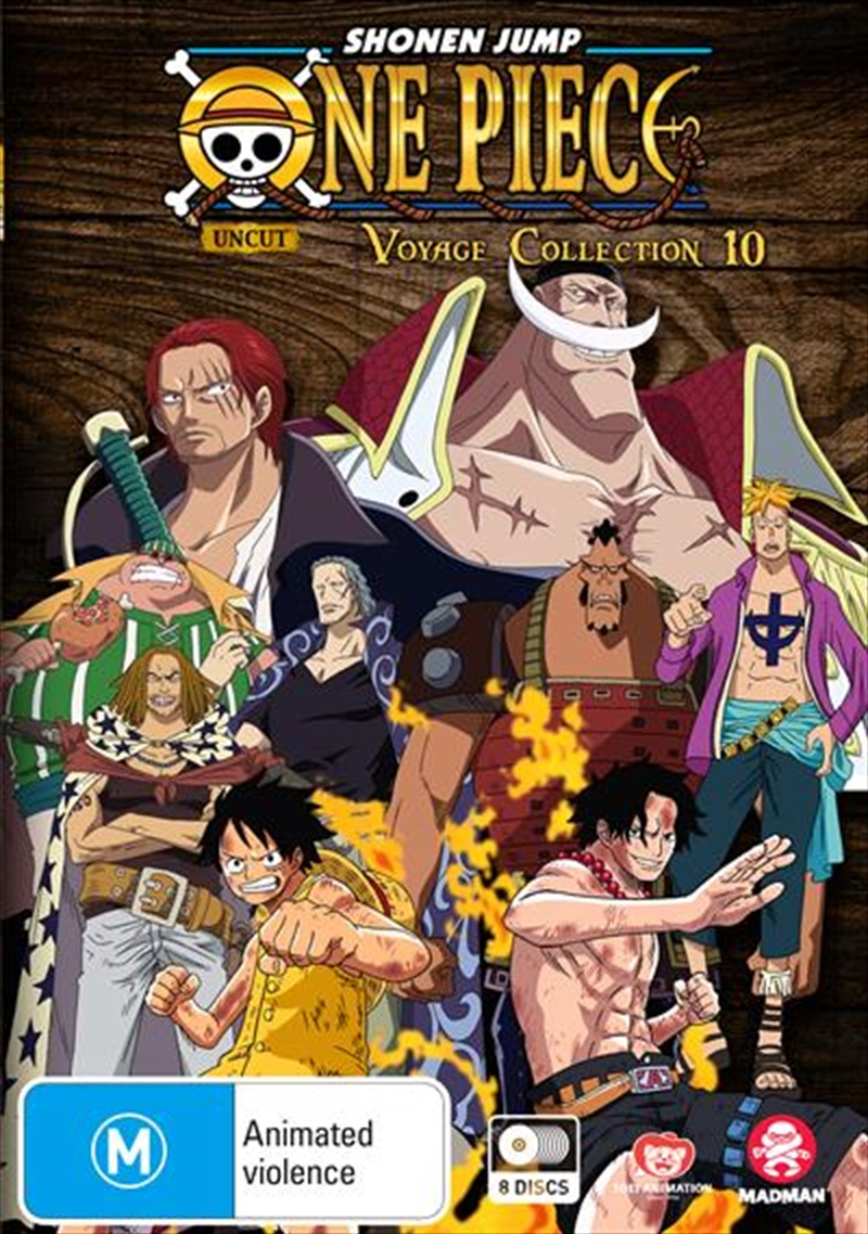 One Piece Voyage - Collection 10 - Eps 446-491 | DVD