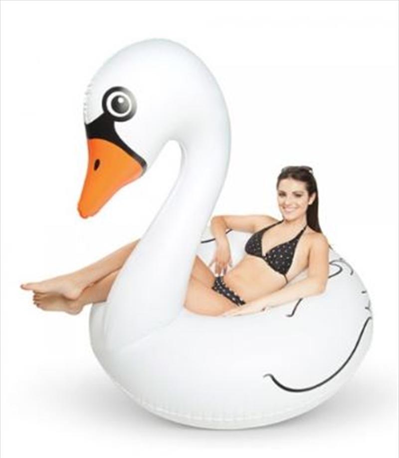 BigMouth Giant White Swan Pool Float | Miscellaneous