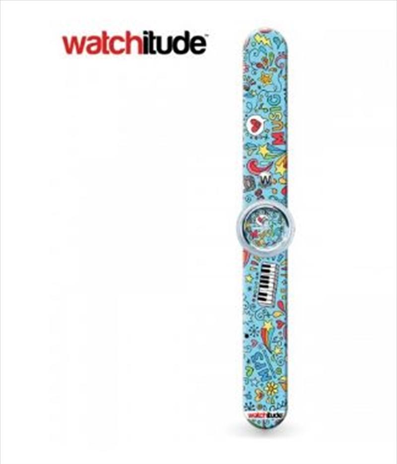 Watchitude #426 – Music Box Slap Watch   Apparel