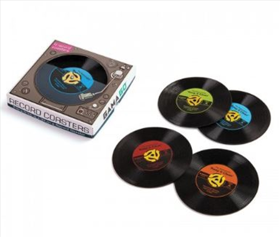 GAMAGO Record Coasters | Miscellaneous