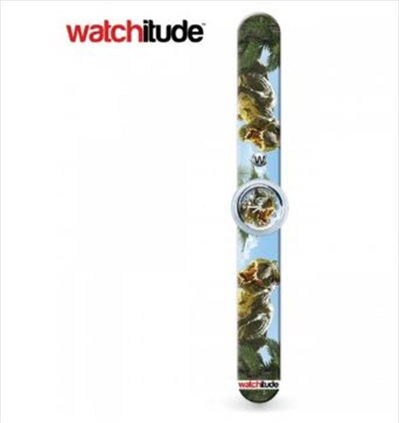 Watchitude #390 – Dinosaur Roar Slap Watch   Apparel