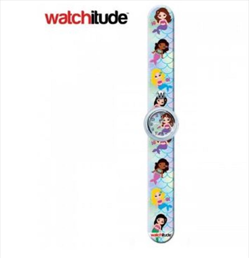 Watchitude #386 – Mermaid Magic Slap Watch   Apparel