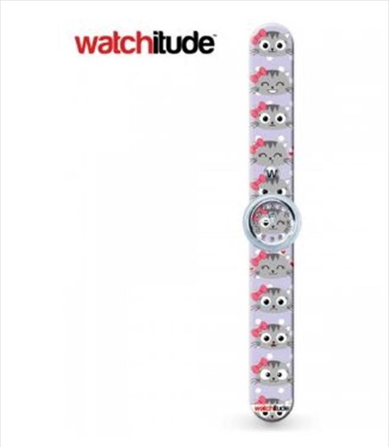 Watchitude #370 – Kitty Cat Slap Watch   Apparel