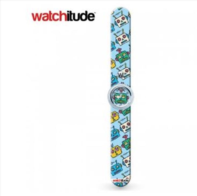 Watchitude #355 – Robots Slap Watch   Apparel
