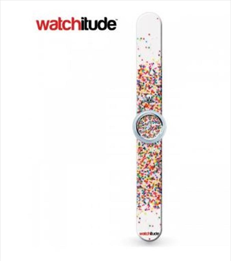 Watchitude #342 – Sprinkle Dots Slap Watch   Apparel