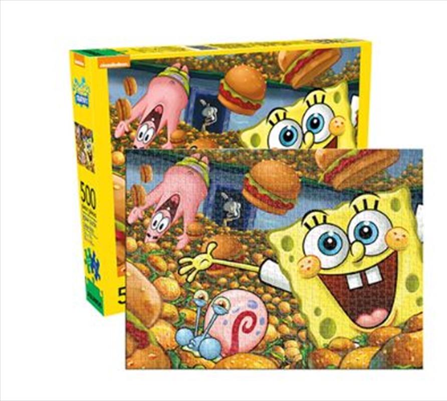 SpongeBob SquarePants – Cast 500 Piece Puzzle | Merchandise