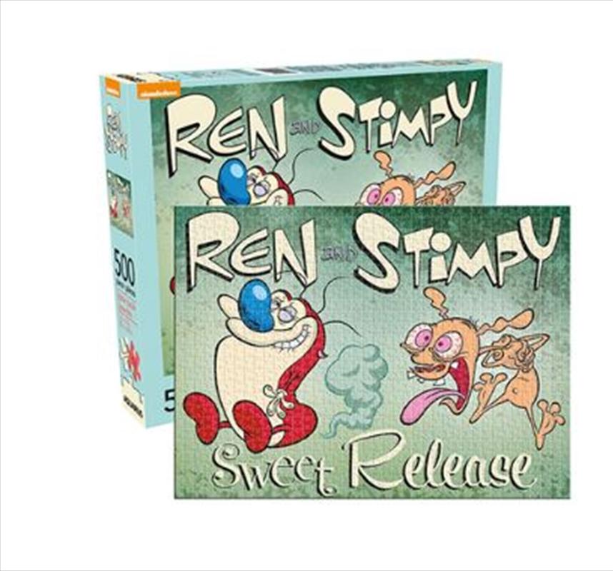 Ren & Stimpy 500pc Puzzle | Merchandise