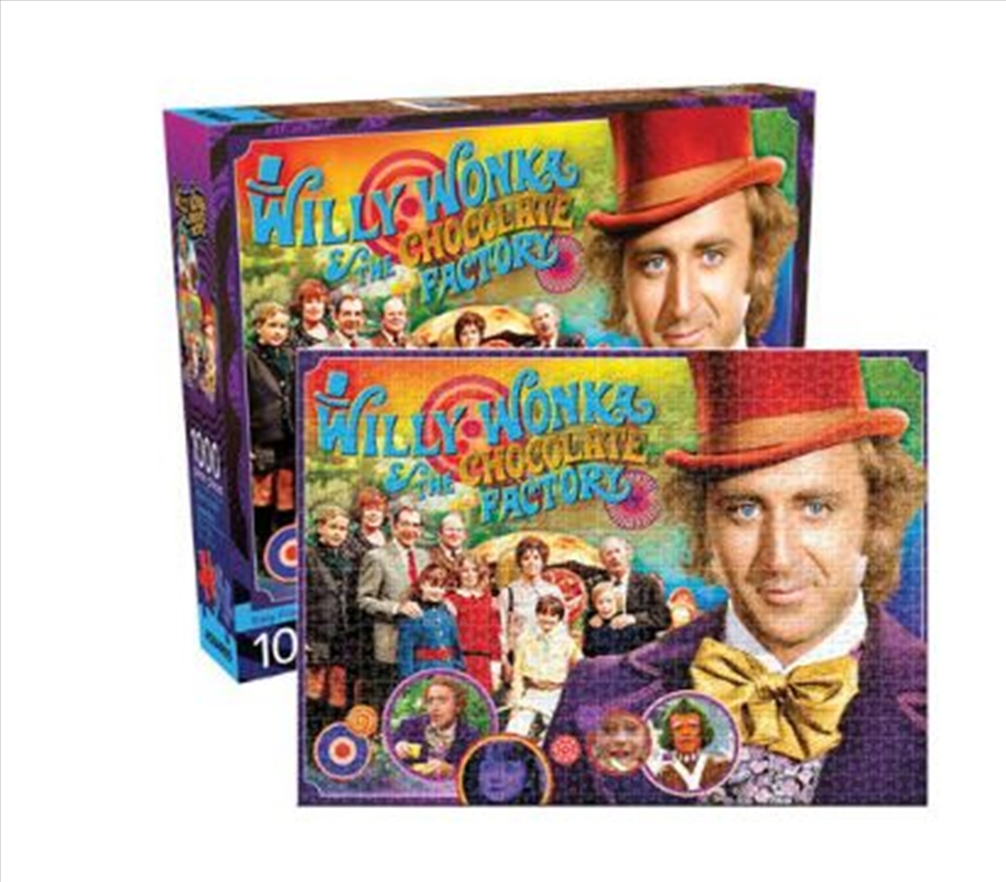 Willy Wonka Collage 1000 Piece Puzzle | Merchandise